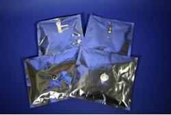 02 Multi-layer foil barrier gas sampling bag